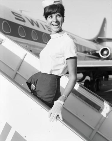 Hostess der Swissair, Ursula Reimann