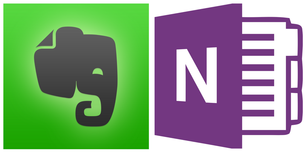 Data collectors: Evernote and OneNote